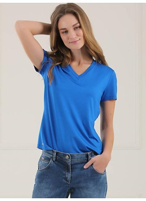 Faik Sönmez Tişört Mavi